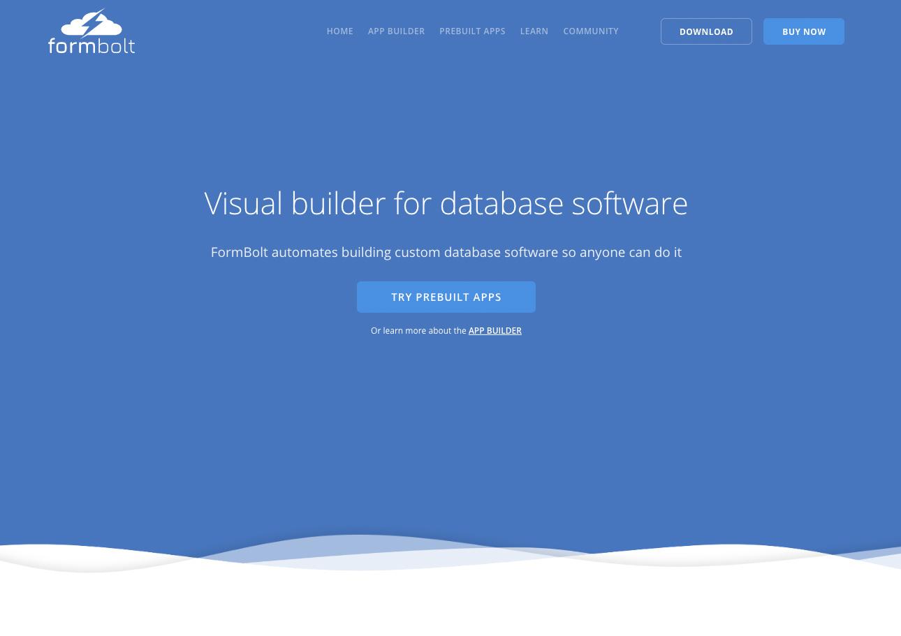 FormBolt - Made with Vue js