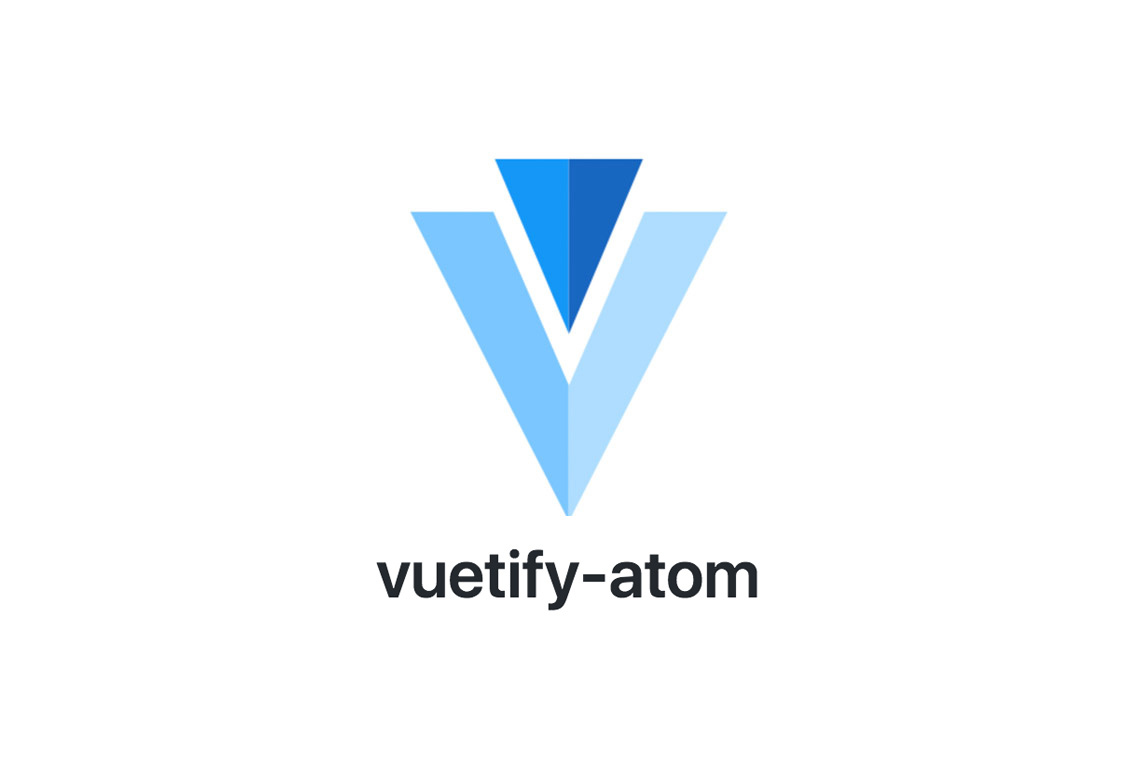 vuetify-atom - Made with Vue js