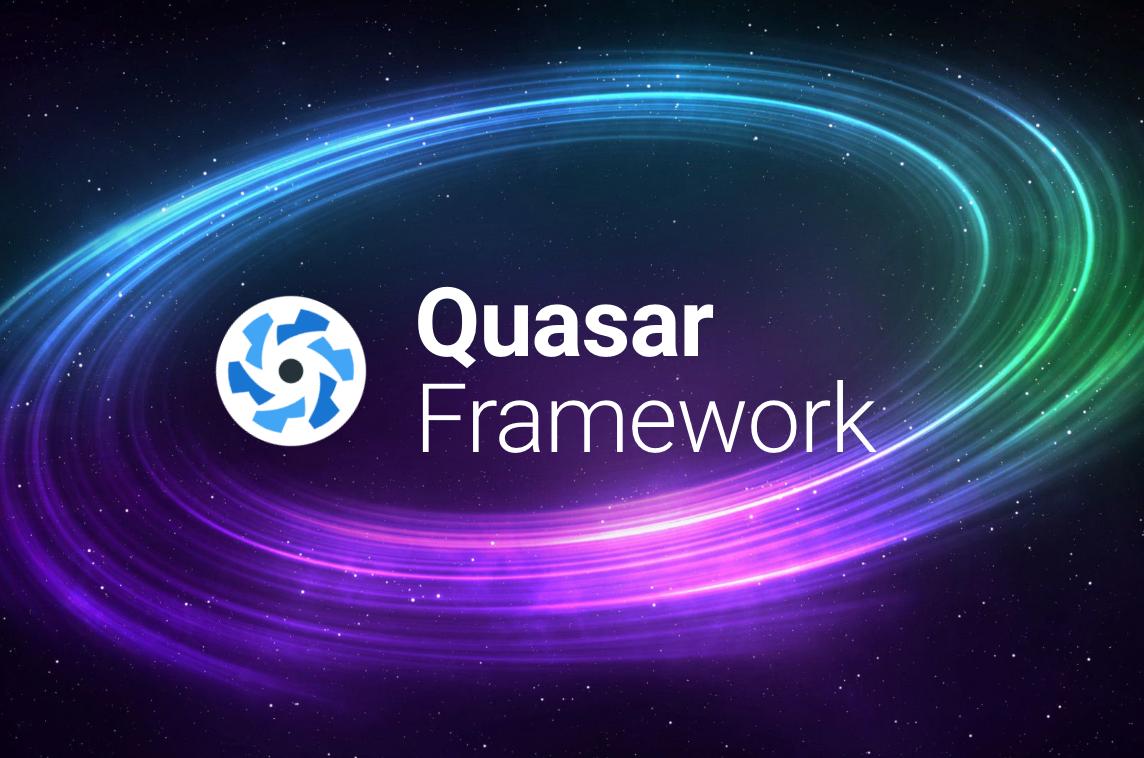 Quasar-Framework - Made with Vue js
